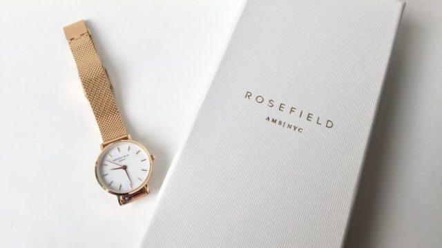 ローズフィールドの時計